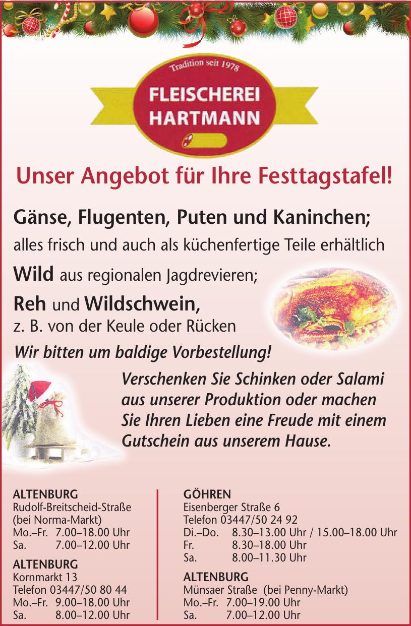 Fleischerei Hartmann