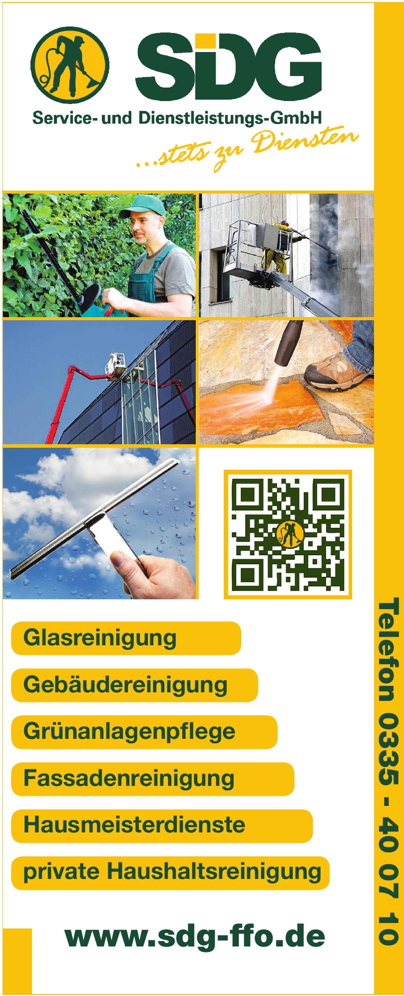 SDG Service- und Dienstleistungs-GmbH