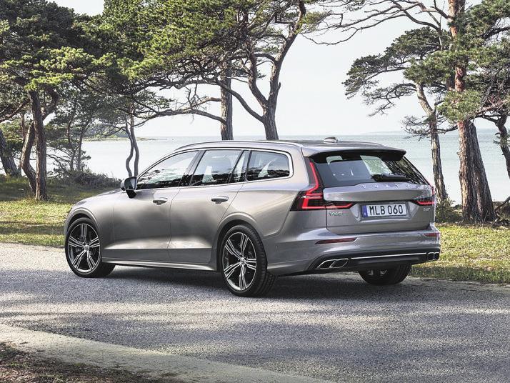 <div>Der Volvo V60 Recharge: Dynamischer Premium-Kombi mit Plug-in-Hybridantrieb. Foto:Volvo</div>