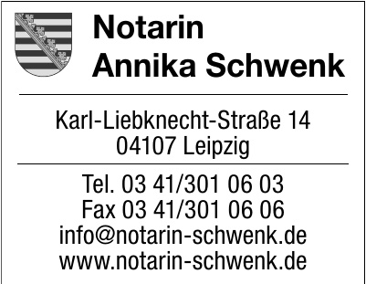 Notarin Annika Schwenk