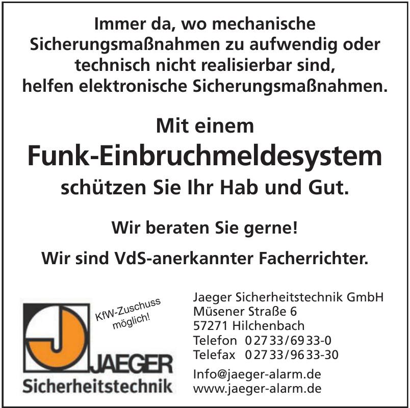 Jaeger Sicherheitstechnik GmbH