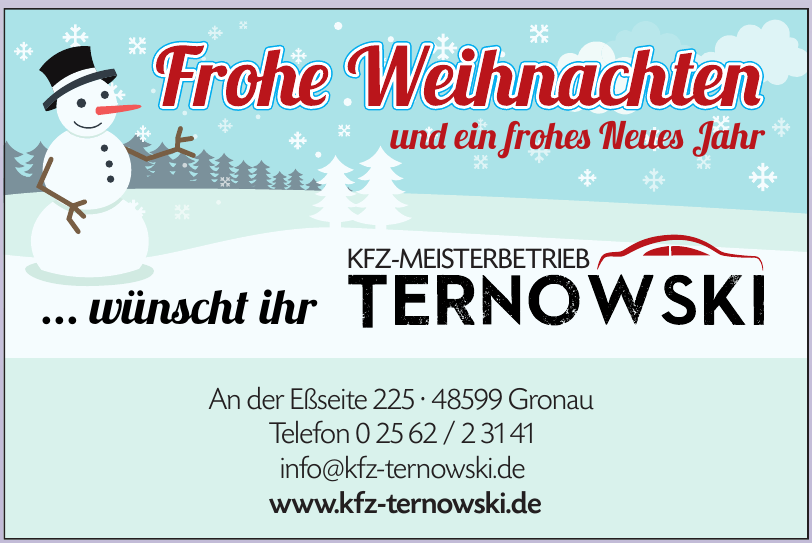 Kfz-Meisterbetrieb Ternowski