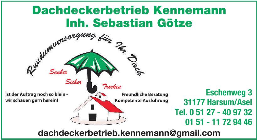 Dachdeckerbetrieb Kennemann Inh. Sebastian Götze