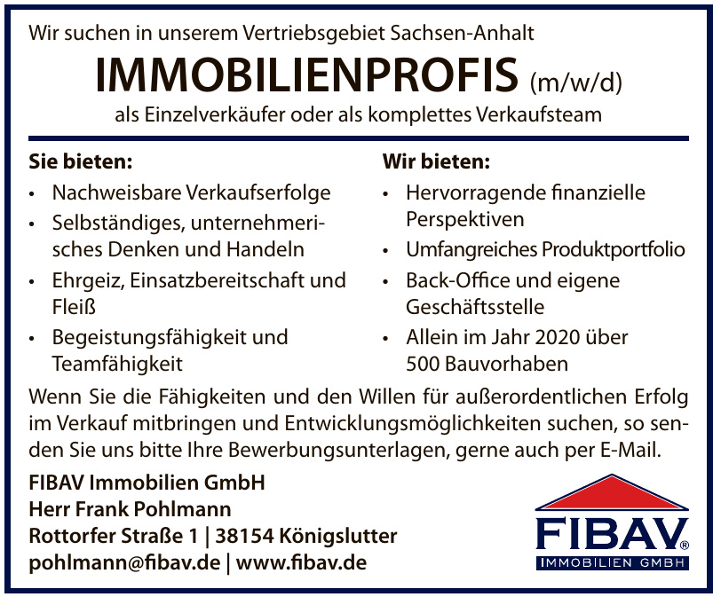 FIBAV Immobilien GmbH