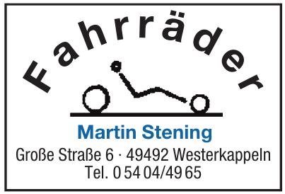 Fahrräder Martin Stening