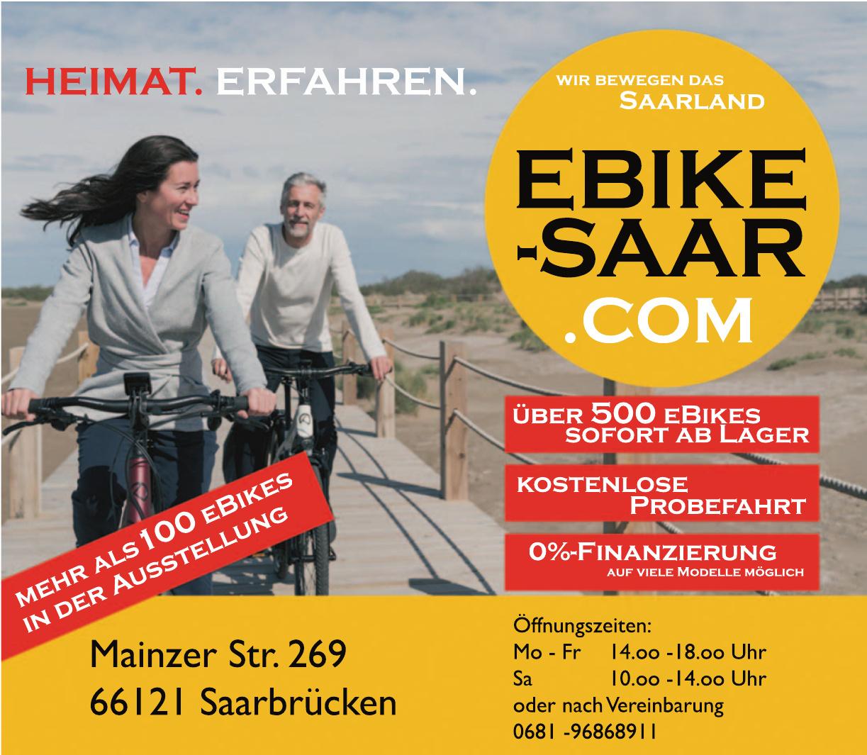 Ebike-Saar