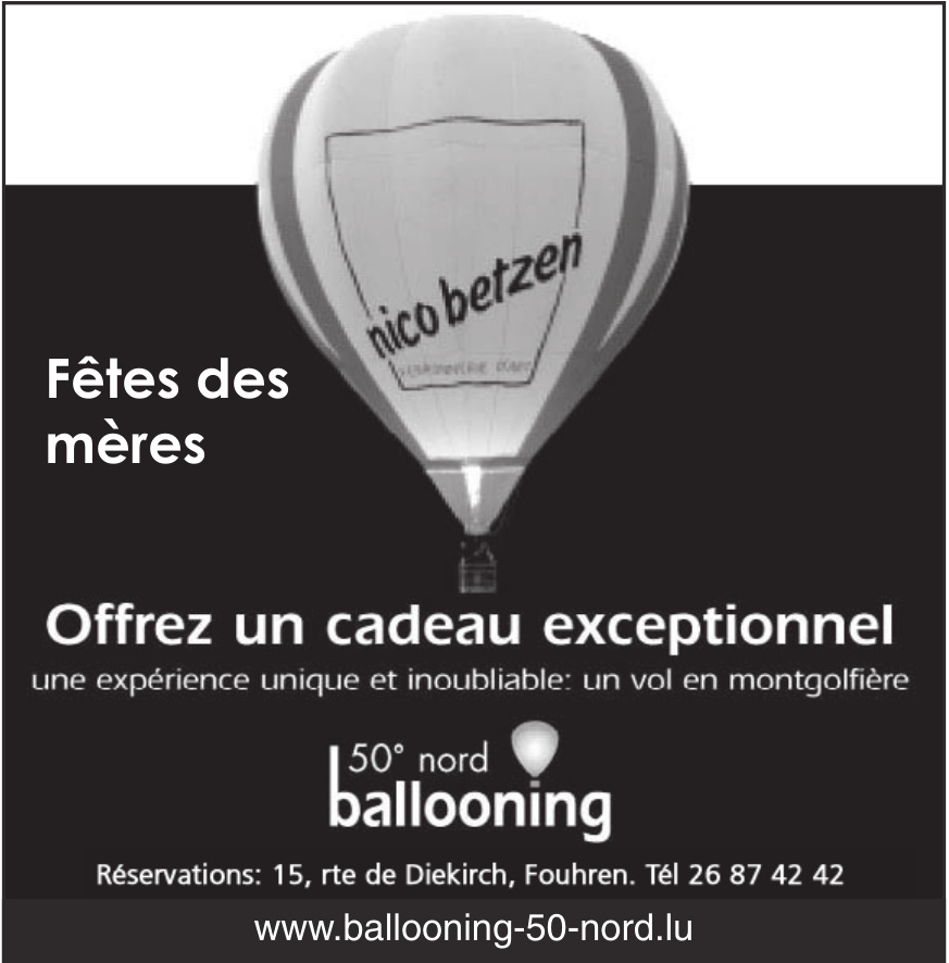 Ballooning 50°nord