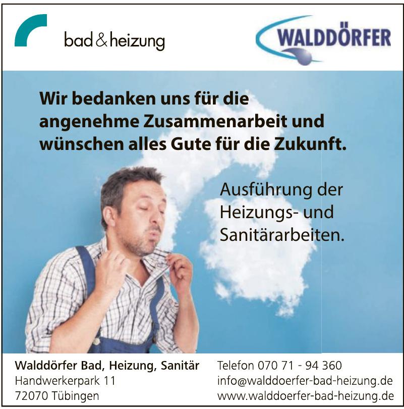 Walddöfer Bad, Heizung, Sanitär