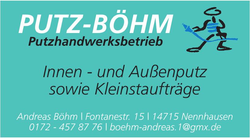 Putz-Böhm Putzhandwerksbetrieb