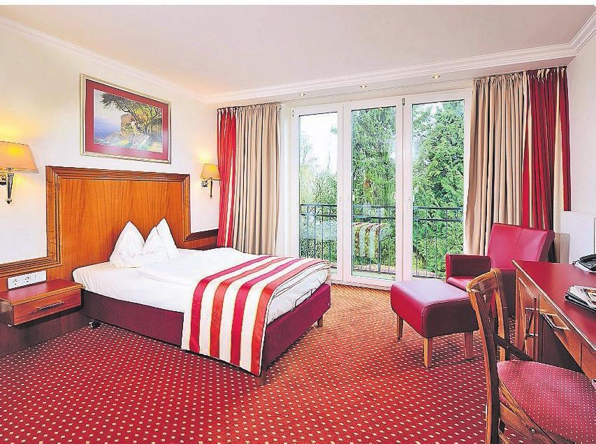 Die Zimmer sind gemütlich eingerichtet. Fotos: Hotel Drei Birken