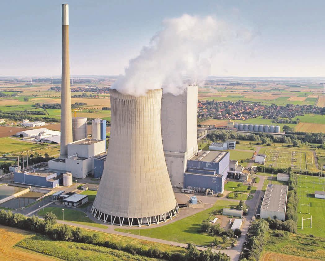 Das Kraftwerk Mehrum ist seit 1965 in Betrieb. Foto: privat