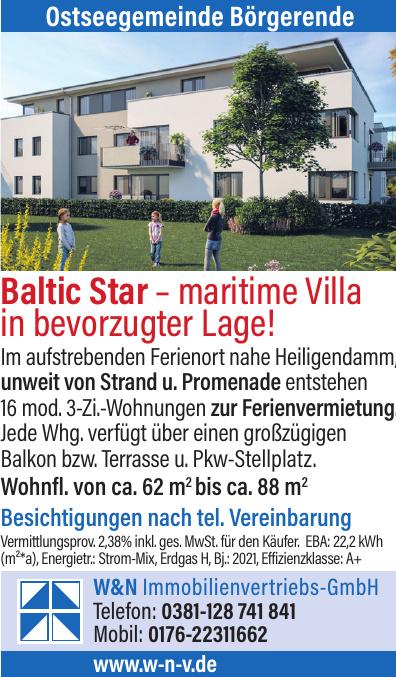 W&N Immobilienvertriebs-GmbH - Ostseegemeinde Börgerende