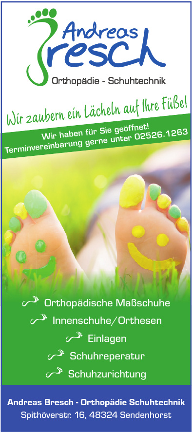 Andreas Bresch - Orthopädie Schuhtechnik