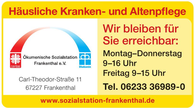 Ökumenische Sozialstations Franeknthel e.V.