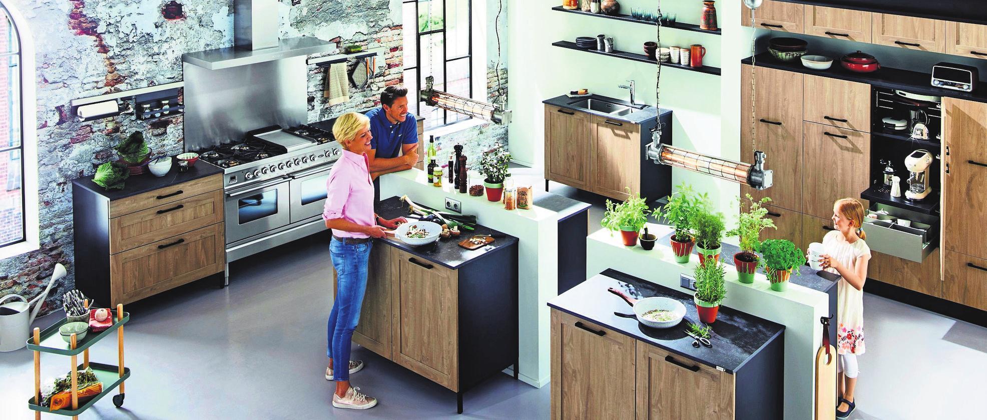Ob groß oder klein – bei der Planung einer Küche sind viel Fachwissen und Erfahrung gefragt.