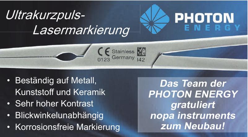 PHOTON ENERGY GmbH