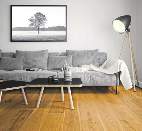 Eiche Landhausdiele: sanft beige und ausdrucksstarkFoto: pr