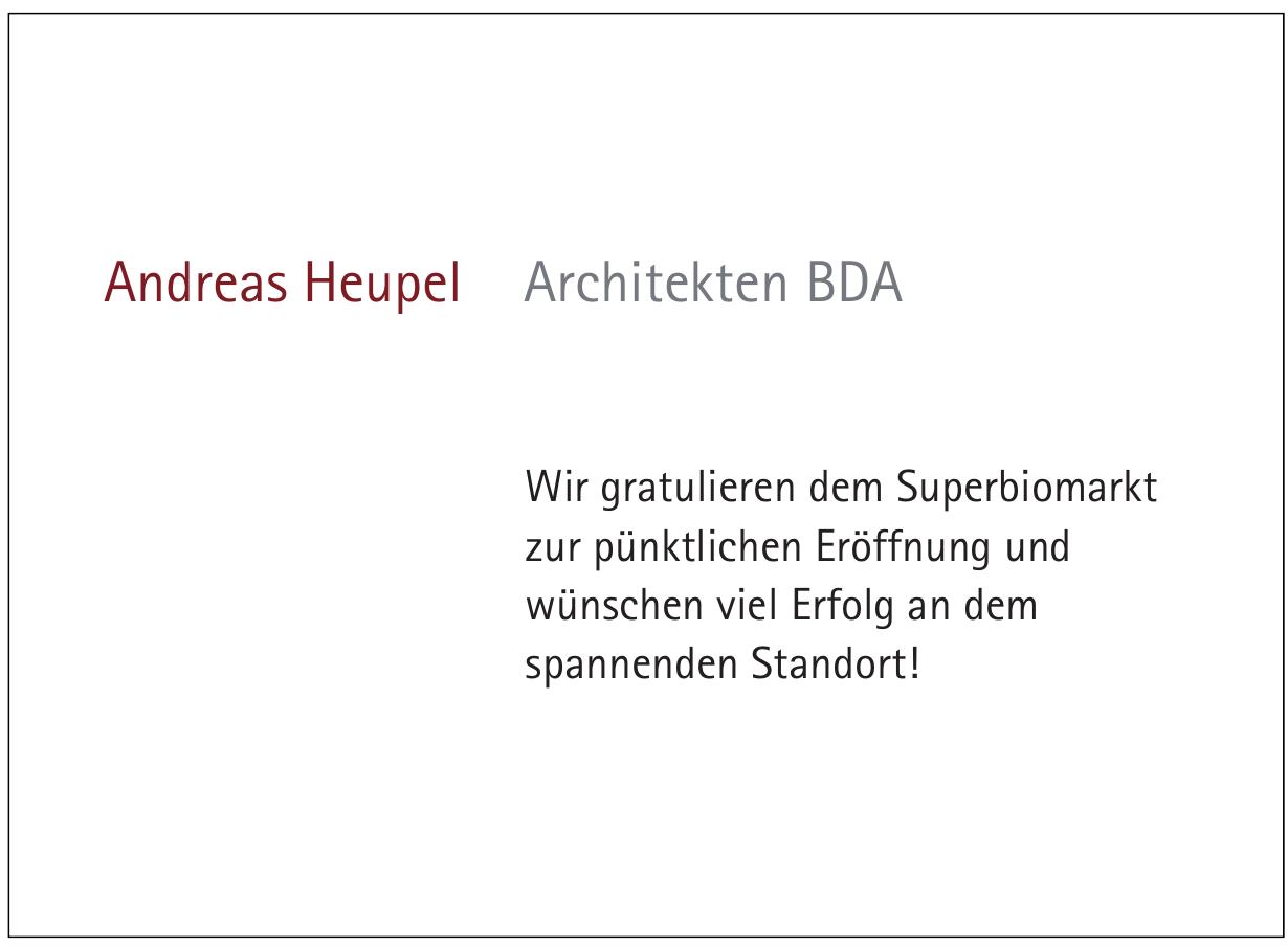 Andreas Heupel Architekten BDA