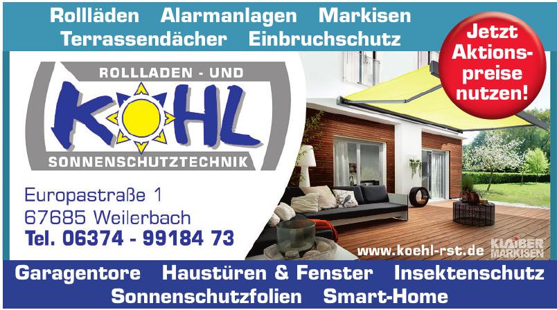 Köhl Rollladen- u. Sonnenschutztechnik