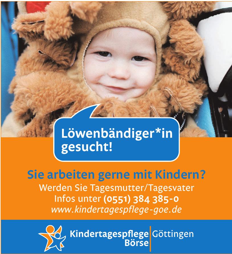 Kindertagespflege Börse