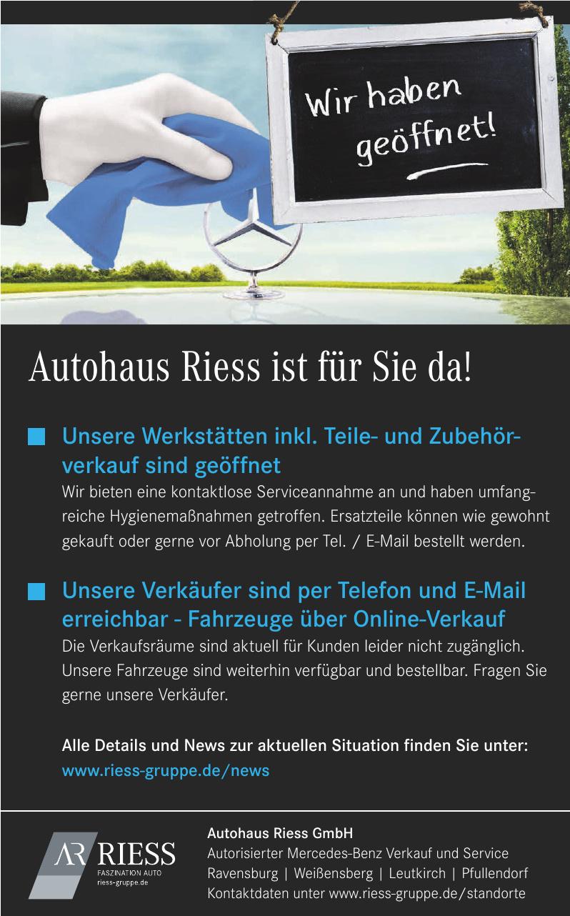 Autohaus Riess GmbH