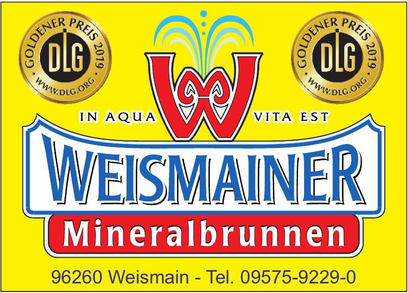 Weismainer Mineralbrunnen