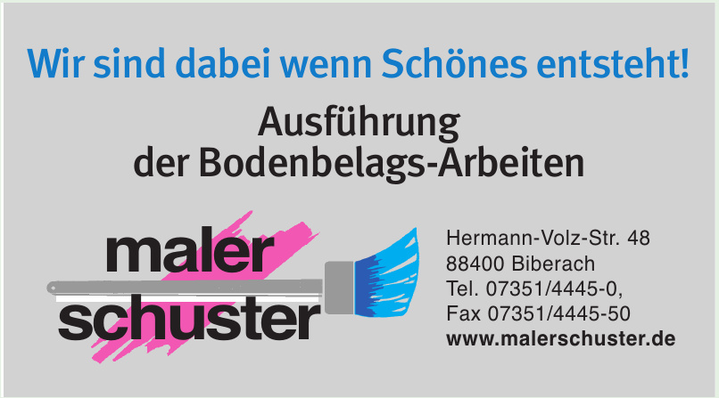 maler-schuster gmbh