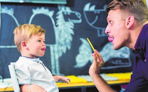 Gute Berufschancen bietet eine Ausbildung zum Logopäden. Die Experten für Sprachstörungen sind gefragt in der Gesundheitsbranche. Sie haben gute Chancen auf dem Arbeitsmarkt. Foto: kasto/123rf/randstad