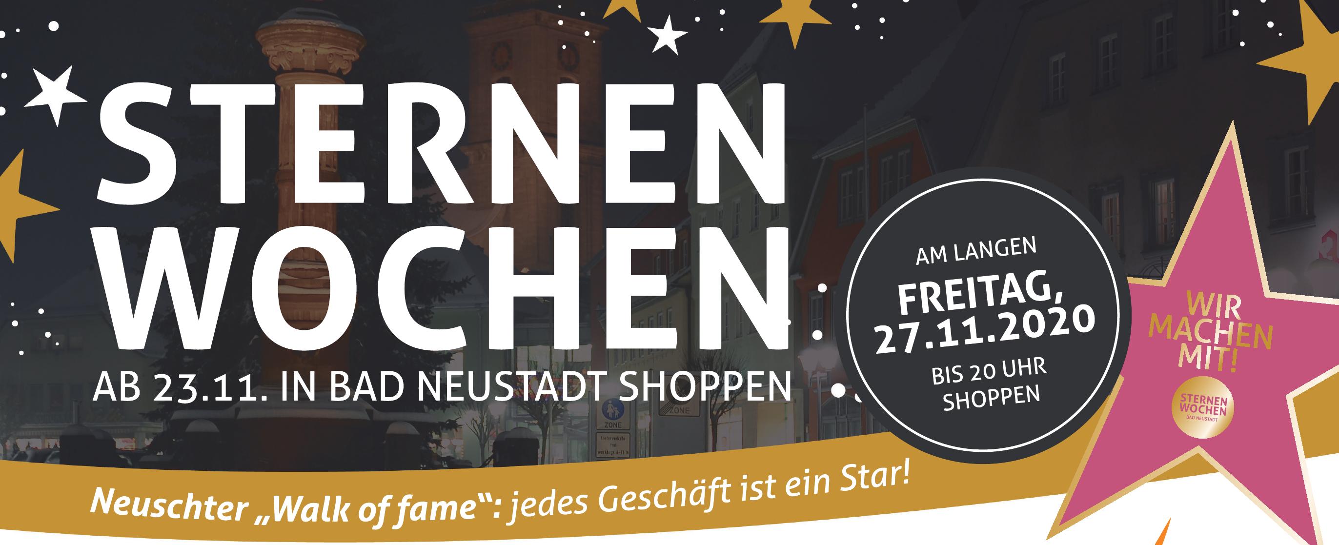 Sternen Wochen - ab 23.11. in Bad Neustadt shoppen Image 1