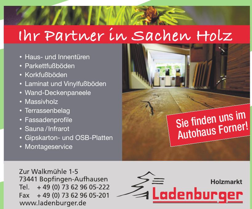Holzmarkt Ladenburger
