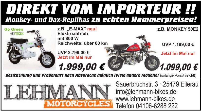 Lehmann Motorcycles