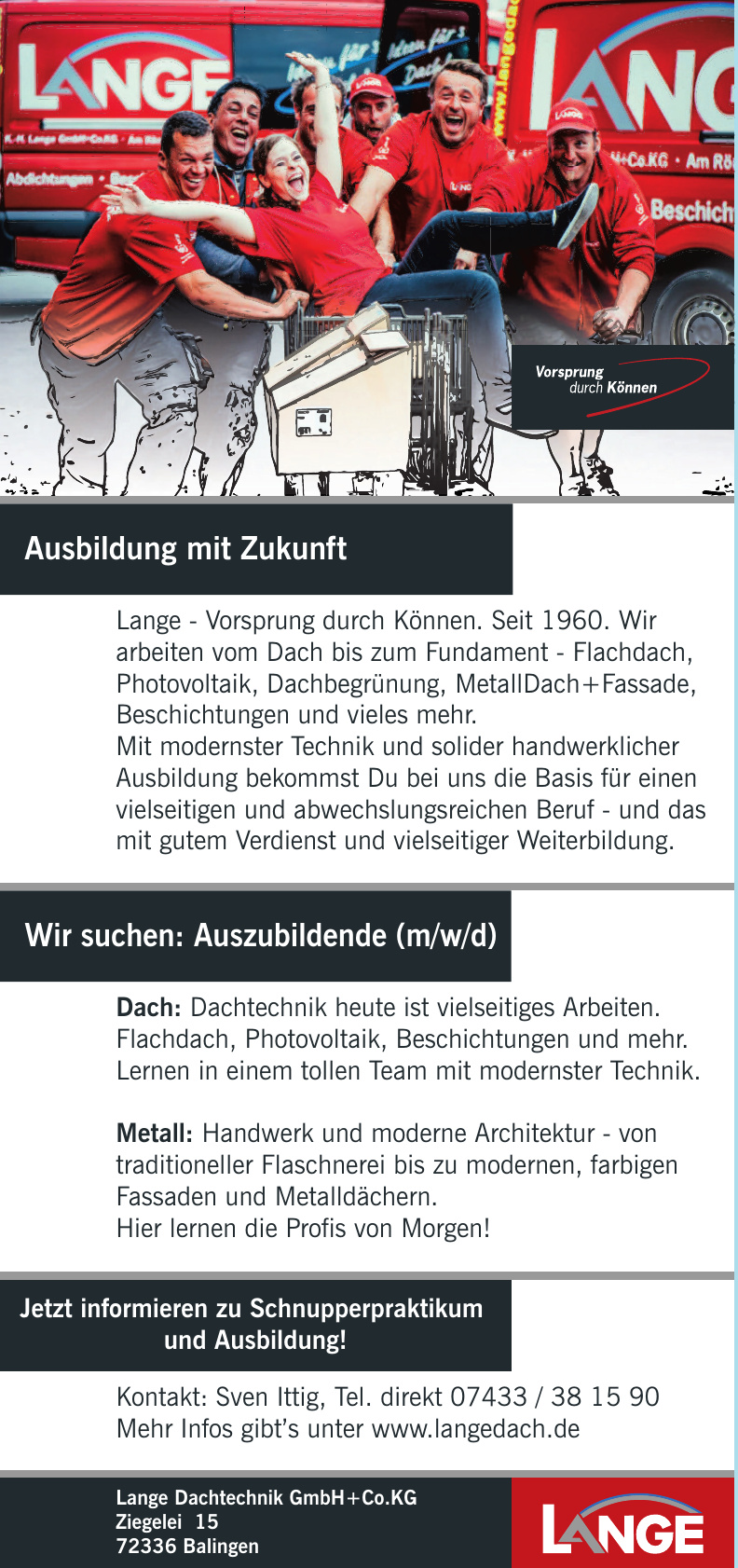 Lange Dachtechnik GmbH+Co.KG