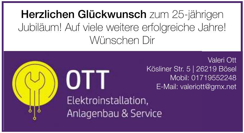 OTT Installation, Anlagenbau & Service