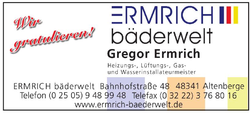 Ermrich Bäderwelt Gregor Ermrich