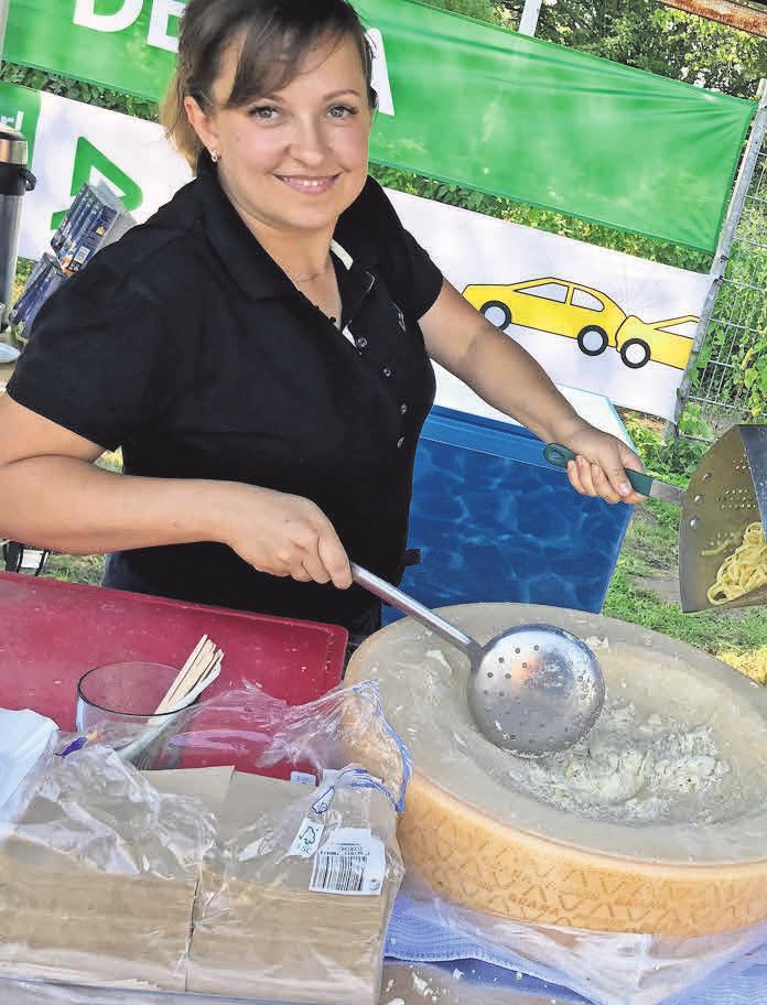 Gaumenfreuden, die das Herz begehrt: Marina Gärtner bietet ihre Qualitäten auch als Outdoor-Köchin an.