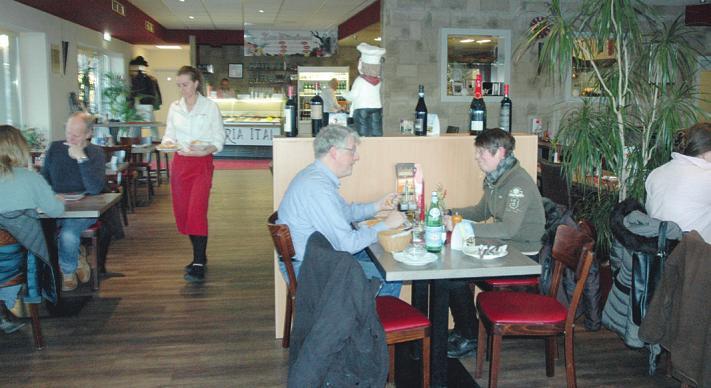 """Im Tornescher Restaurant """"Mamma Mia"""" lässt es sich bestens speisen Foto: Kuno Klein"""