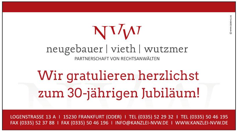 Neugebauer - Vieth - Wutzmer - Partnerschaft von Rechtsanwälten
