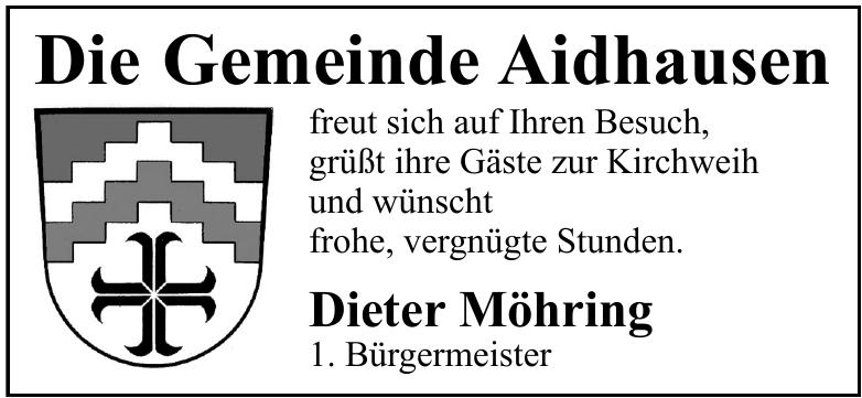 Die Gemeinde Aidhausen