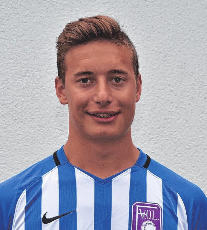 Von den A-Junioren: Fabian Guggenberger.