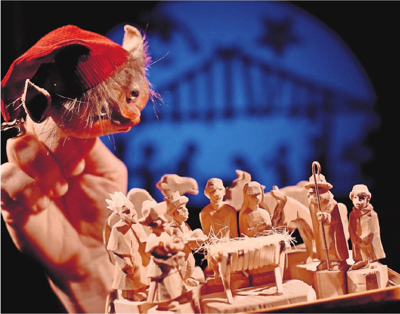 """""""Es weihnachtet sehr"""", auch im Deutschen Spielzeugmuseum. Foto: Valerie Seufert"""