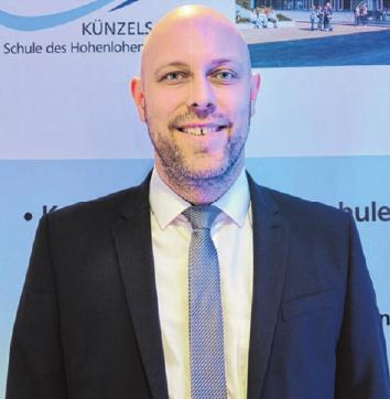 Patrick Wagner, Abteilungsleiter für Duale Bildungsgänge an der Kaufmännischen Schule Künzelsau.