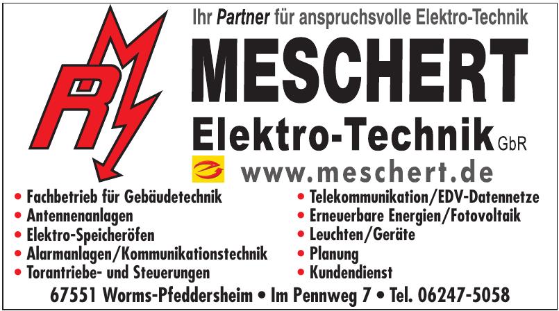 Meschert Elekrto-Technik GbR