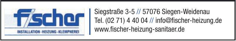 Fischer Installation - Heizungsbau - Klempnerei GmbH & Co. KG