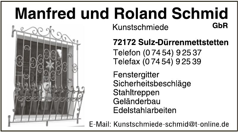 Manfred und Roland Schmid Kunstschmiede GbR