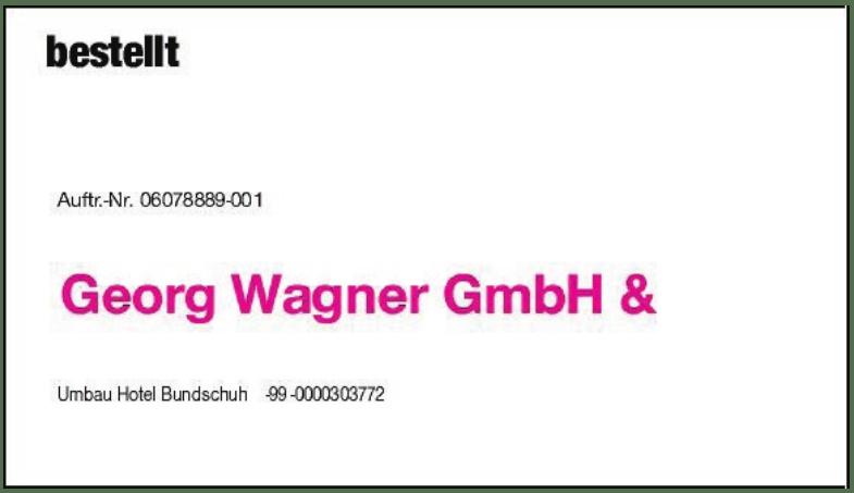 Georg Wagner GmbH  &