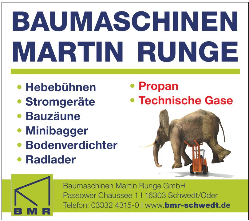 BMR Baumaschinen Martin Runge GmbH