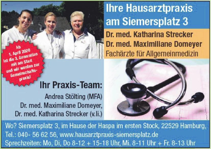 Hausarztpraxis am Siemersplatz 3