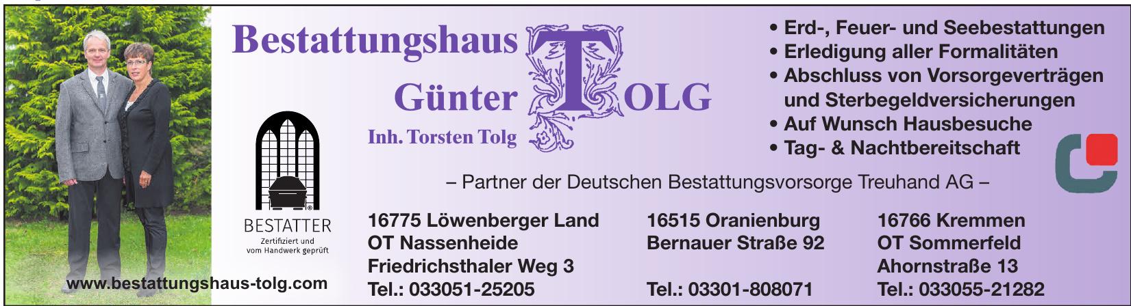 Bestattungshaus Günter Tolg