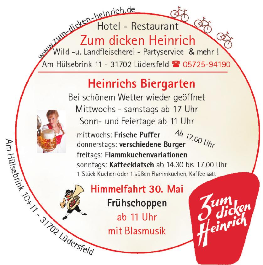 Hotel Restaurant Zum dicken Heinrich
