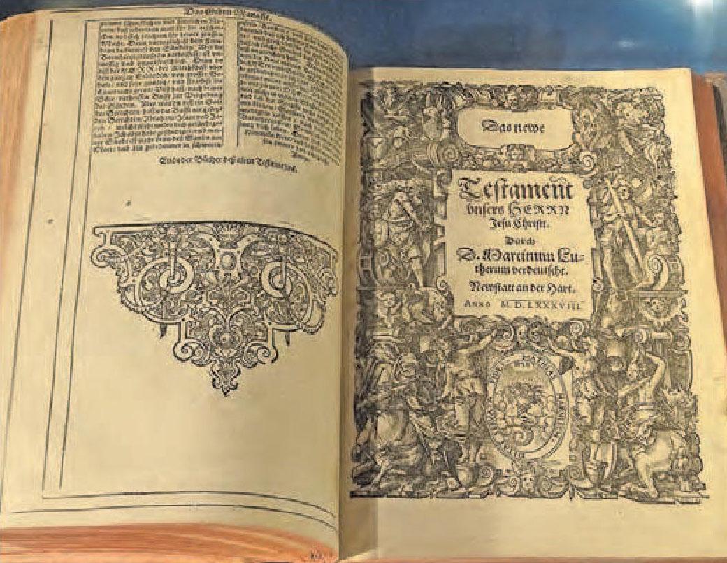 Pfarrer Michael Landgraf lädt ins Erlebnis-Bibelmuseum nach Neustadt ein
